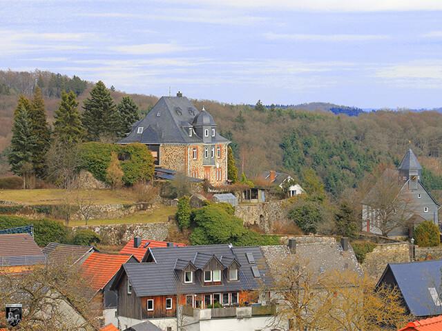 Burg Königsberg in Hessen