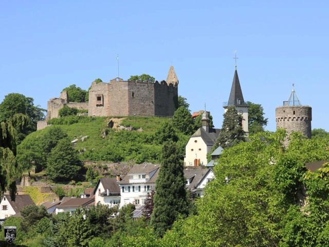Burg Lindenfels in Hessen