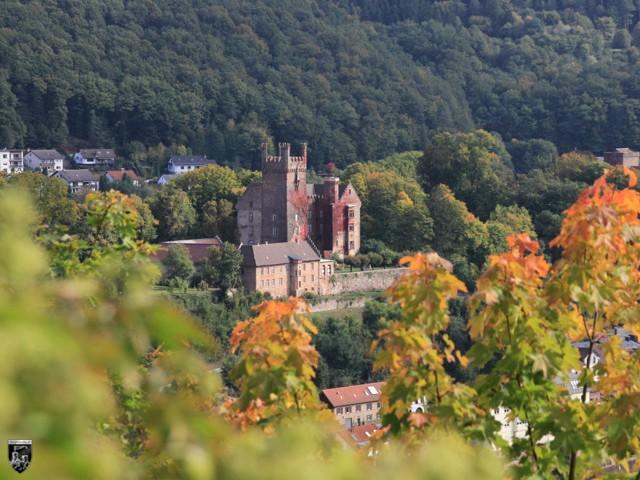 Burg Neckarsteinach, Mittelburg in Hessen