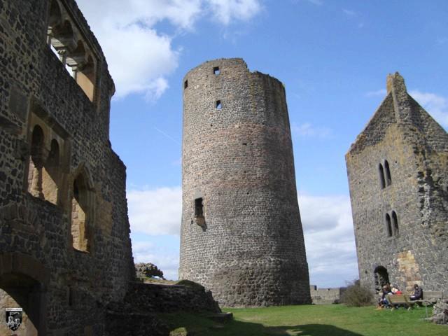 Burg Münzenberg in Hessen