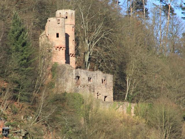 Burg Schadeck, Schwalbennest in Hessen