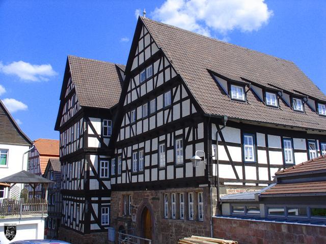 Burgenstadt Schlitz - Das Bild der Schachtenburg wird heute durch Fachwerk dominiert.