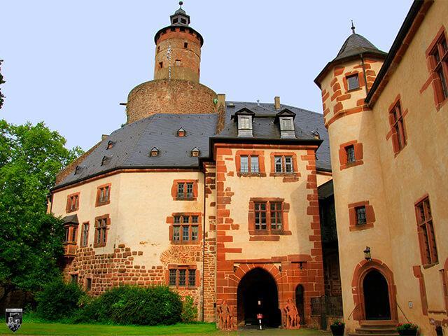Schloss Büdingen in Hessen