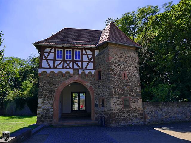 Schloss Dornberg, Burg Dornburg in Hessen