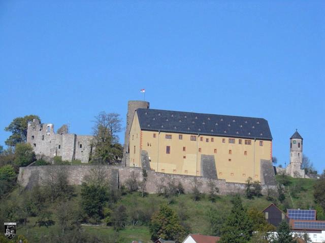 Burg Schwarzenfels in Hessen