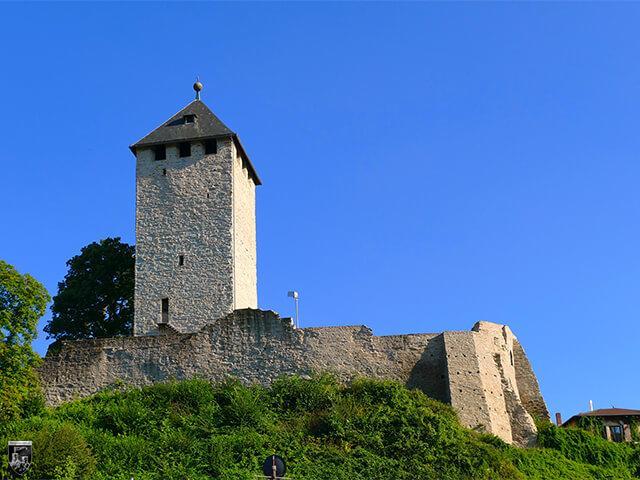 Burg Sonnenberg in Hessen