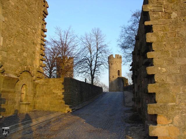Burg Starkenburg in Hessen