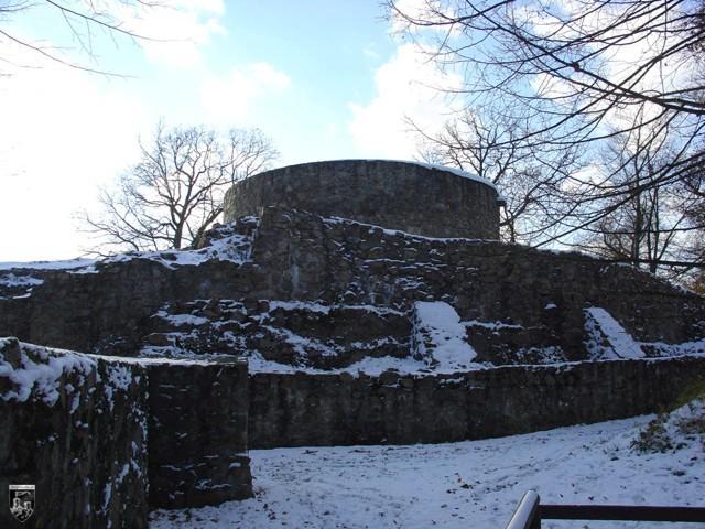 Burg Tannenberg in Hessen