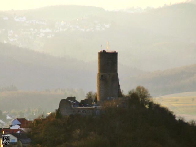 Burg Vetzberg, Bodenberg in Hessen