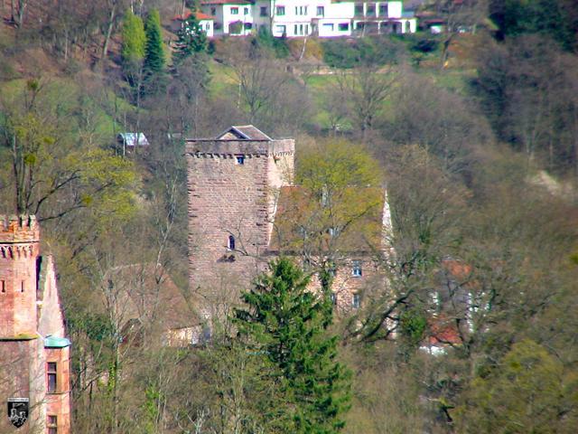 Burg Neckarsteinach, Vorderburg