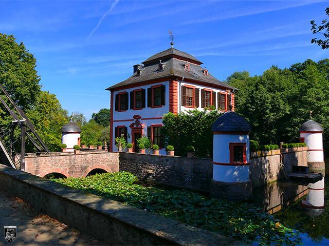 Wasserburg Seligenstadt in Hessen