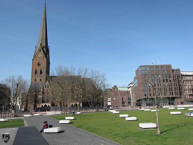 Burg Hamburg, Hammaburg, Bischofsturm, Domburg
