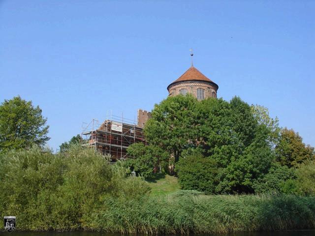 Burg Neustadt-Glewe in Mecklenburg-Vorpommern