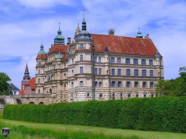 Schloss Güstrow in Mecklenburg-Vorpommern