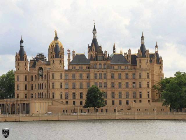 Burg Schwerin in Mecklenburg-Vorpommern