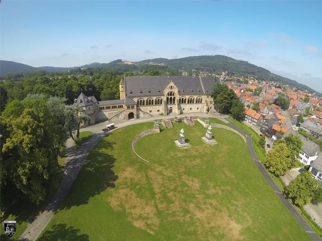 Kaiserpfalz Goslar, Goslarer Kaiserpfalz in Niedersachsen