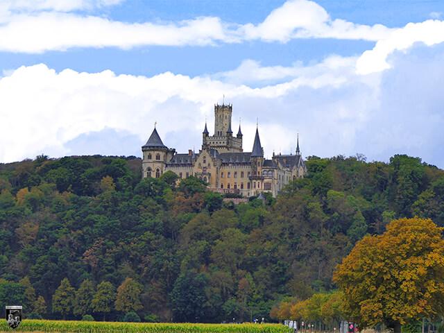 Burg und Schloss Marienburg in Niedersachsen