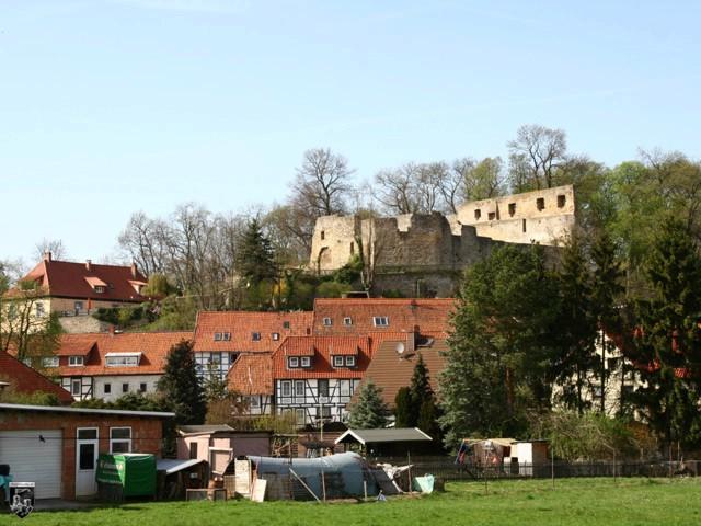 Salzderhelden, Heldenburg (Ruine, Spornburg, Gipfelburg ...