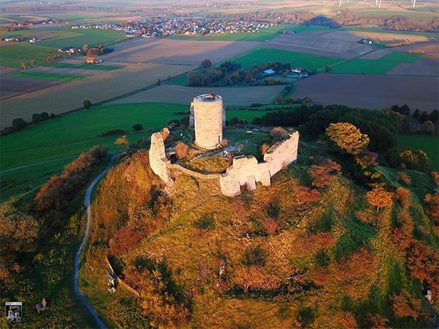 Burg Desenberg in Nordrhein-Westfalen
