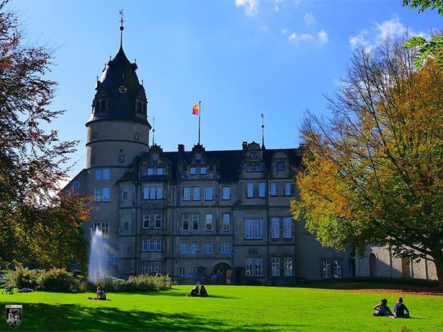 Fürstliche Residenz Schloss Detmold in Nordrhein-Westfalen