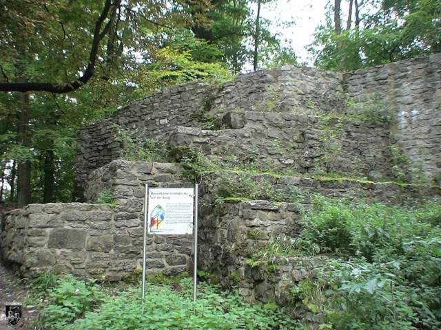 Burg Iburg in Nordrhein-Westfalen