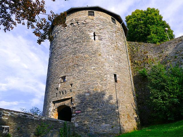 Burg Monschau in Nordrhein-Westfalen