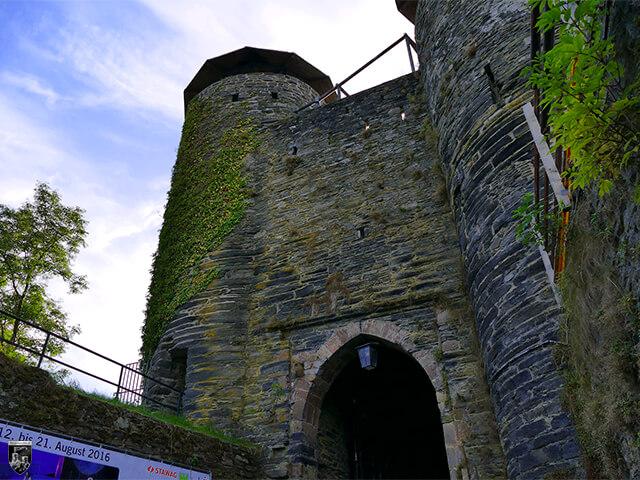 Burg Monschau - Das Doppelturmtor