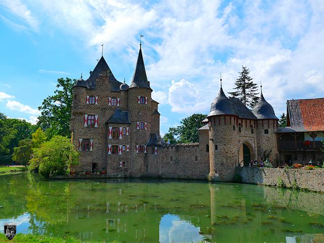 Burg Satzvey in Nordrhein-Westfalen