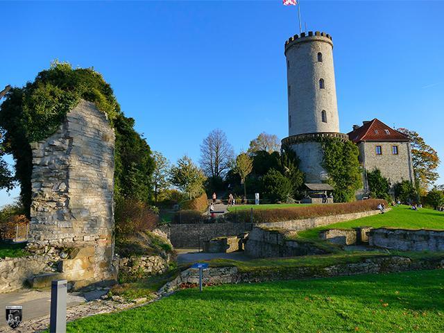 Burg Sparrenburg, Sparrenberg, Sparenburg in Nordrhein-Westfalen