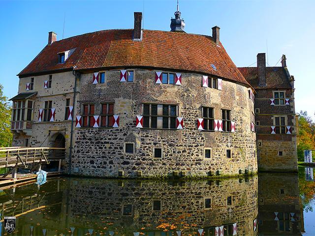 Burg Vischering in Nordrhein-Westfalen