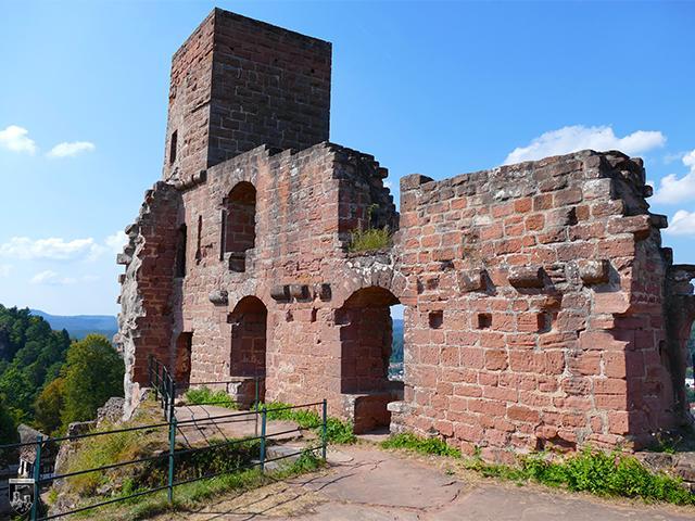 Burg Alt-Dahn, Altdahn, Dahner Burgen in Rheinland-Pfalz