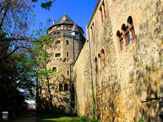 Burg und Schloss Alzey, Stein, Ravensburg in Rheinland-Pfalz