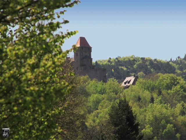 Burg Berwartstein in Rheinland-Pfalz