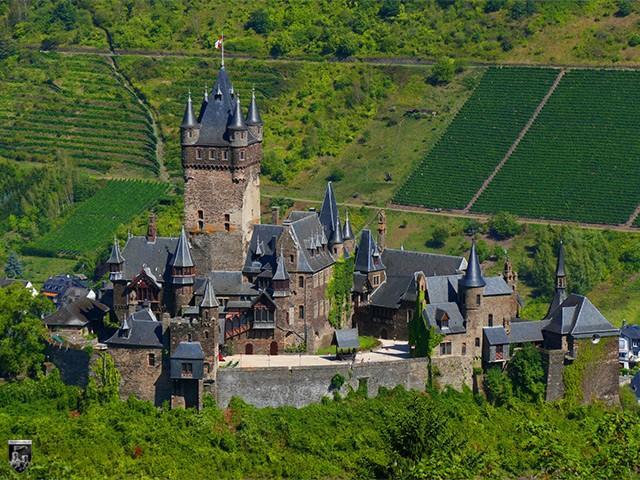 Burg Cochem in Rheinland-Pfalz