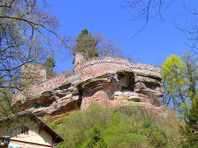 Burg Diemerstein in Rheinland-Pfalz