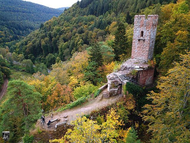 Burg Erfenstein in Rheinland-Pfalz