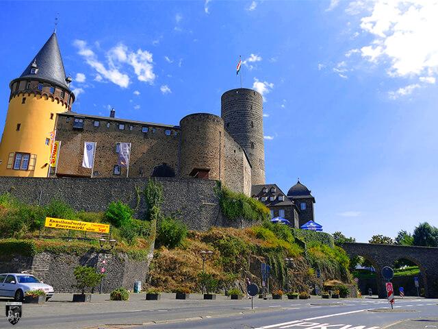 Burg Genoveva, Genovevaburg, Mayen in Rheinland-Pfalz