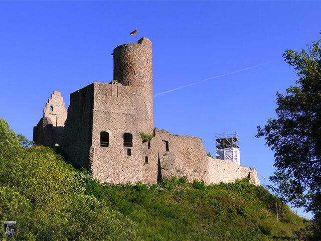 Große Burg Monreal, Löwenburg in Rheinland-Pfalz