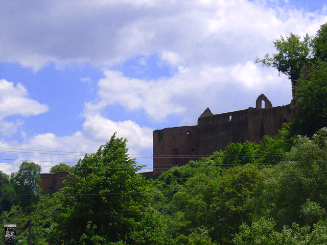 Schloss und Festung Hardenburg, Hardenberg in Rheinland-Pfalz