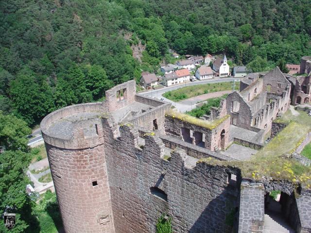 Burg Hardenberg, Hardenburg