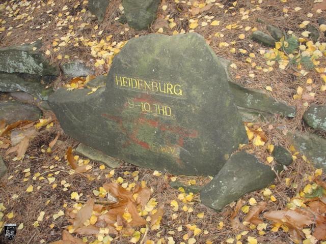 Burg Heidenburg in Rheinland-Pfalz