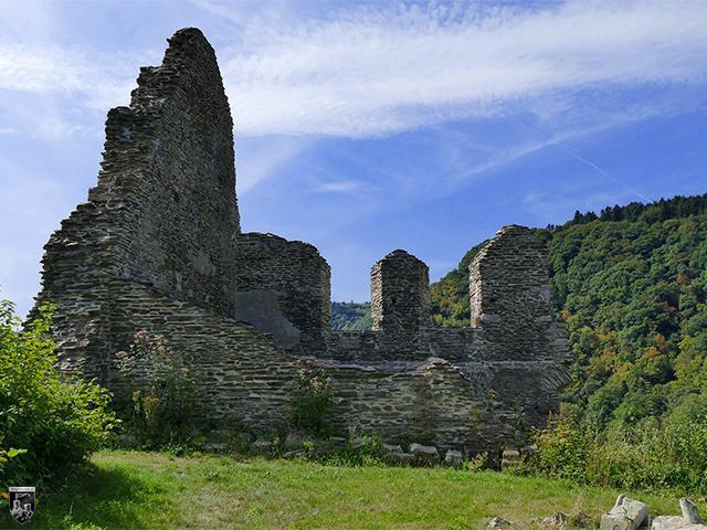 Burg Isenburg in Rheinland-Pfalz