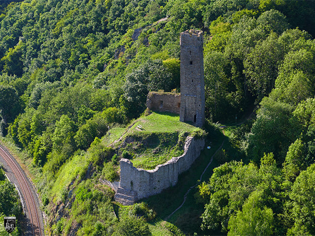 Kleine Burg Monreal, Philippsburg in Rheinland-Pfalz