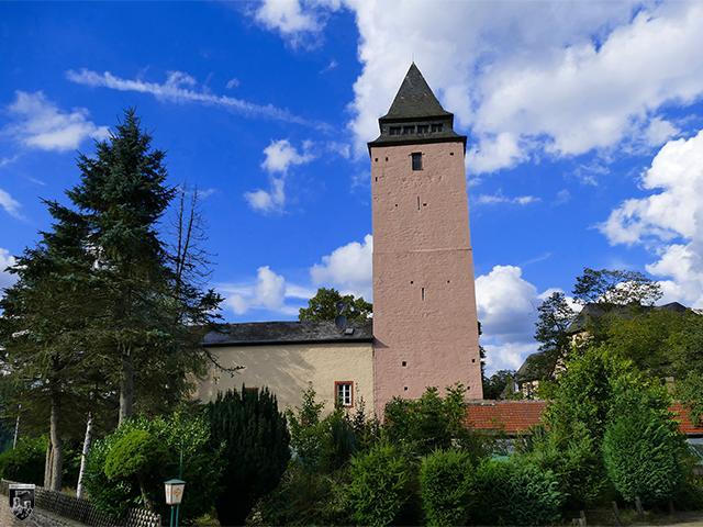 Burg Kyllburg in Rheinland-Pfalz