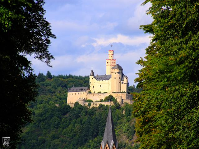 Burg Marksburg in Rheinland-Pfalz