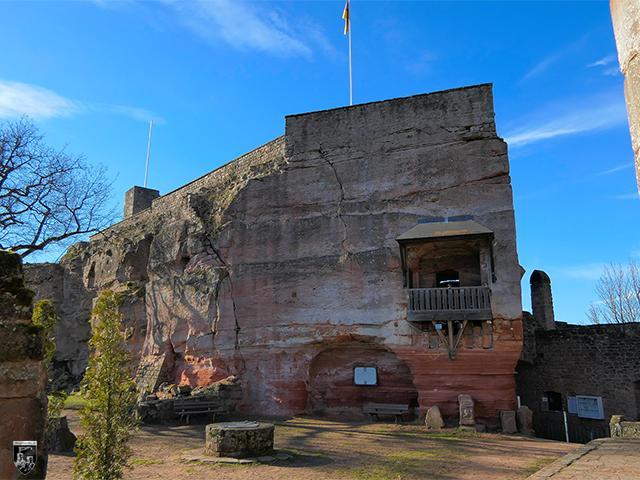 Burg Nanstein, Nannstein in Rheinland-Pfalz