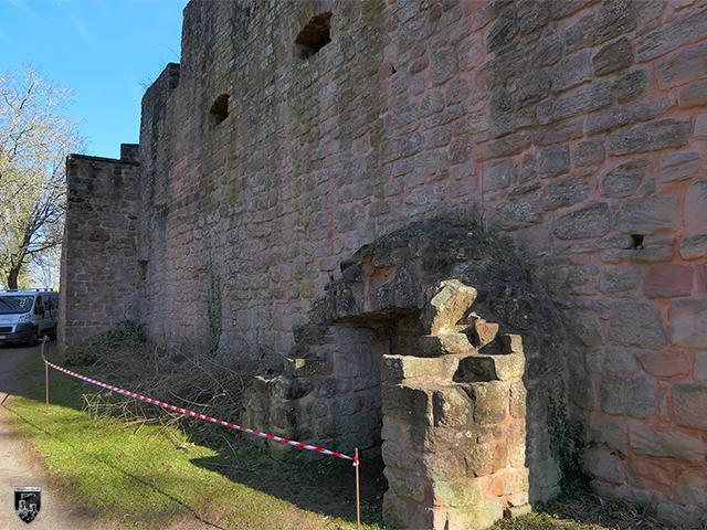 Burg Nanstein, Nannstein