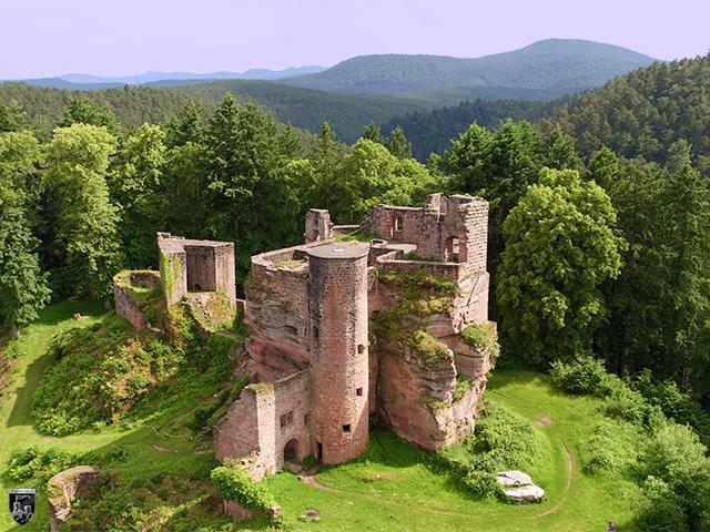 Burg Neudahn in Rheinland-Pfalz