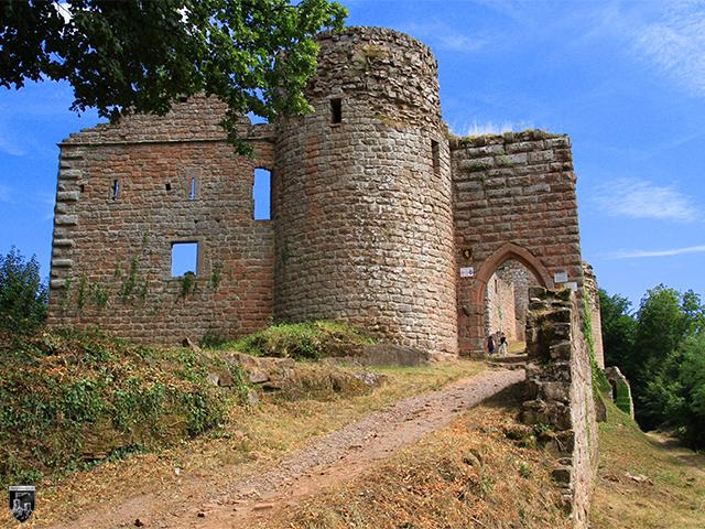 Burg Neuscharfeneck in Rheinland-Pfalz