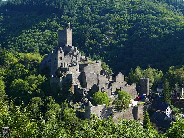Burg Niedermanderscheid, Manderscheider Niederburg in Rheinland-Pfalz